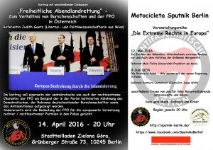 Veranstaltung Österreich