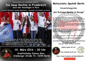 Veranstaltung Frankreich