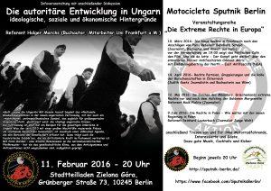 Veranstaltung Ungarn